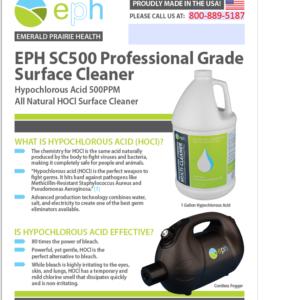 HOCL (Hypochlorous Acid) Information Sheet